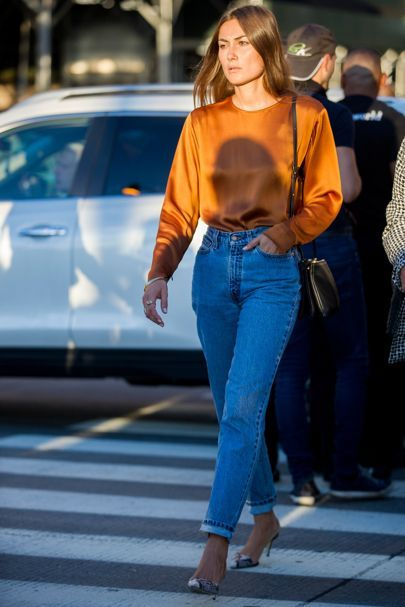 Skinny Jeans Are No More: Vogue Champions The Stiff Denim Trend   British Vogue