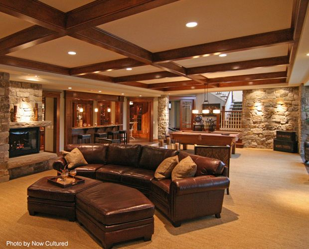 7 basement remodels you wish you had carpets finished for Luxury basements