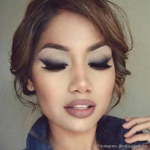Esfumado diagonal: veja de 25 fotos do efeito que é tendência para a maquiagem nos olhos no Instagram