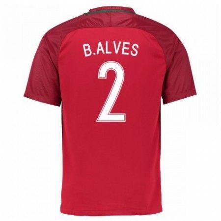 Portugal 2016 B.Alves 2 Hjemmedrakt Kortermet.  http://www.fotballpanett.com/portugal-2016-b.alves-2-hjemmedrakt-kortermet.  #fotballdrakter