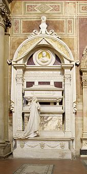 Gioachino Rossini's final resting place, in the Basilica of Santa Croce, Florence. Operas, such as THE BARBER OF SEVILLE