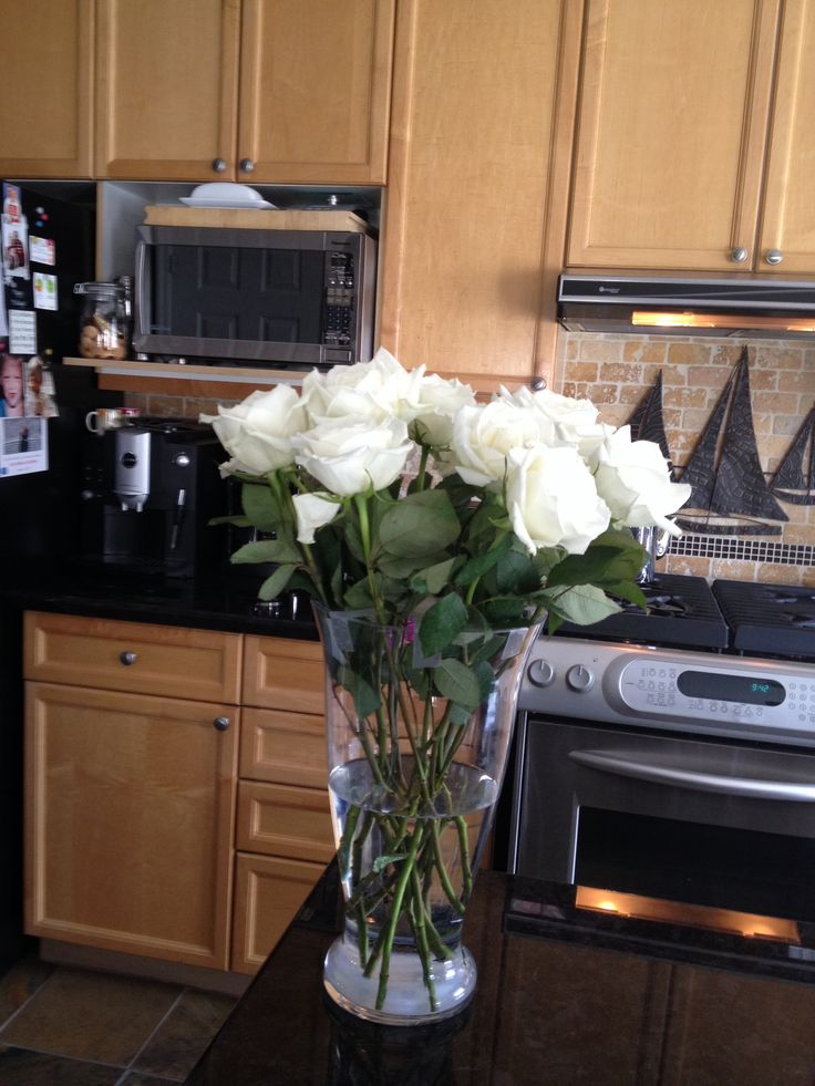Mothers Day white roses