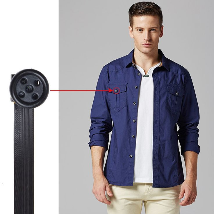 $43, Wiseup 1080P HD Hidden Camera Button With Real-time #Video #Recording And Snapshot Function