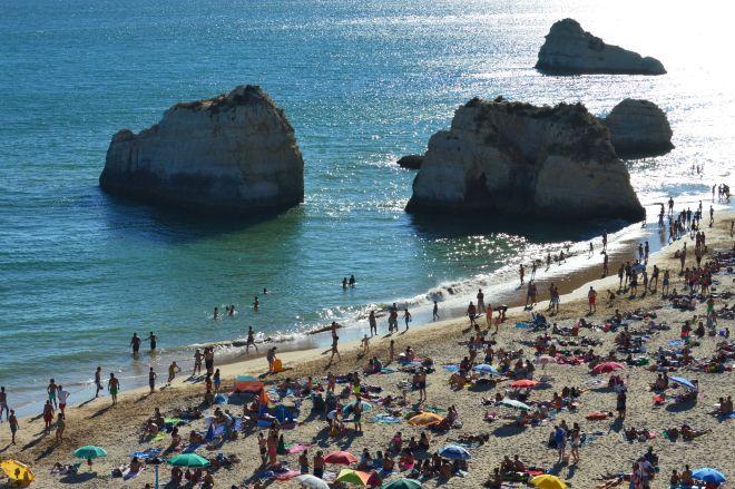 The most beautiful beach in Portugal - Praia da Rocha