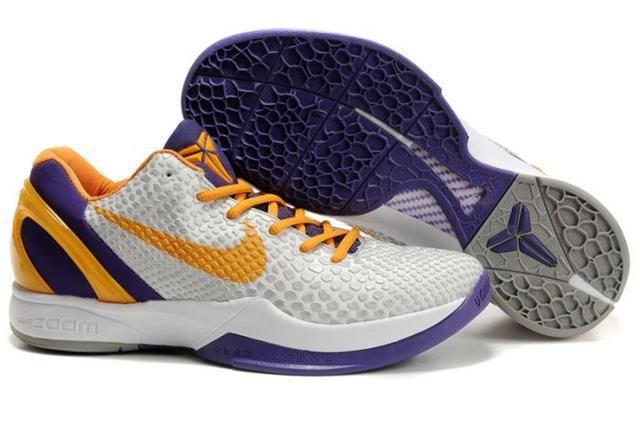 https://www.kengriffeyshoes.com/nike-zoom-kobe-6-white-vibrant-yellow-purple-p-1030.html NIKE ZOOM KOBE 6 WHITE VIBRANT YELLOW PURPLE Only $81.06 , Free Shipping!