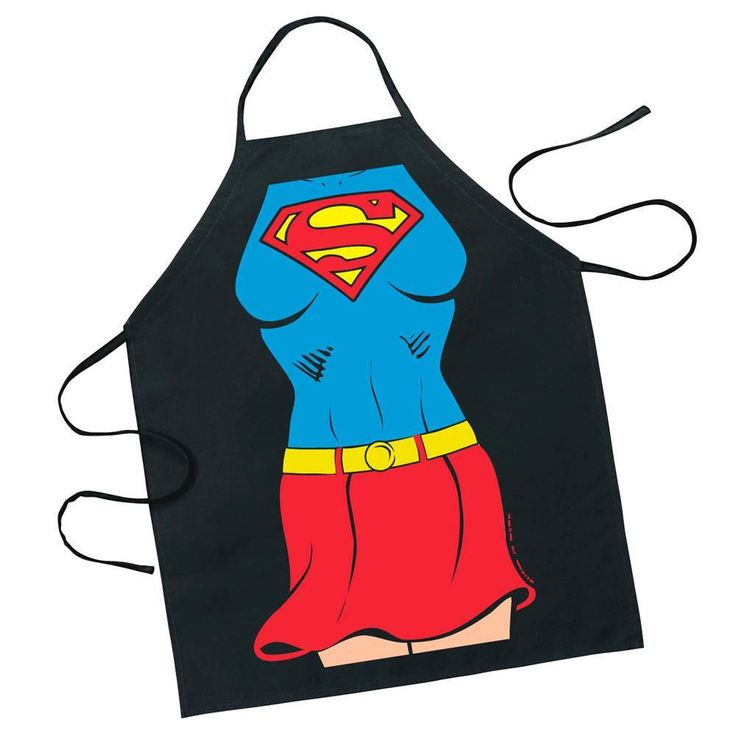 SUPERGIRL CHARACTER APRON