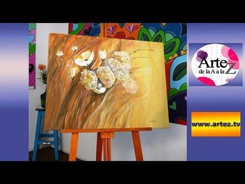 M s de 20 ideas incre bles sobre clases de pintura - Cuadros para principiantes ...