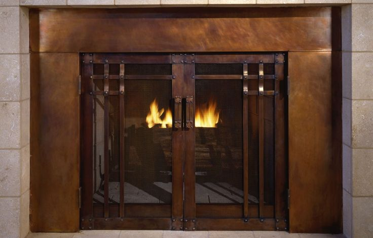 Craftsman Style Fireplace Designs John Malick