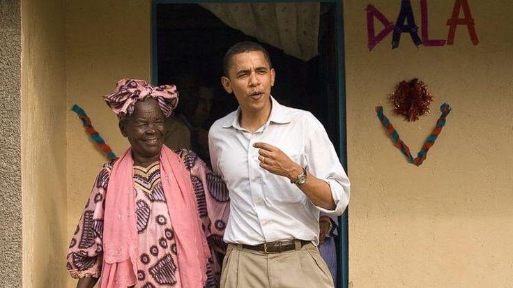 Then senator Obama with his paternal grandmother Sarah. The entire family visited Kenya with him. (2006) - - #BarackObama #MichelleObama #POTUS #FLOTUS #usa  #MaliaObama #SashaObama #forevermypresident  #womensmarch  #forevermyfirstlady #FOREVER44 #FLOTUS44  #problack #feminism#colors#world  #obamafamily_forever_44  #mypresident  #blacklivesmatter #beautiful  #blackexcellence#Obamas  #moderndaypresidential