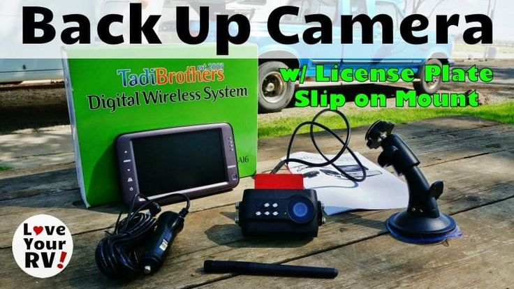 Last fall I published installation and review posts for a Tadibrothers brand wireless backup camera system for our RV. Recently Tadibrothers offered to send me another of their products. It's an easy to install wireless backup camera, that attaches to a vehicle's license plate. I agreed to review it based on how much I've liked the first camera system. It's performed well and has been an excellent addition to our rig. For me, the camera is handy for backing up of course, but the killer…
