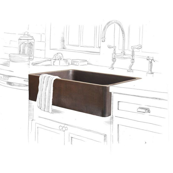 Update the heart of your home in sleek style with this sink, perfect for rinsing dinner dishes and filling stockpots.