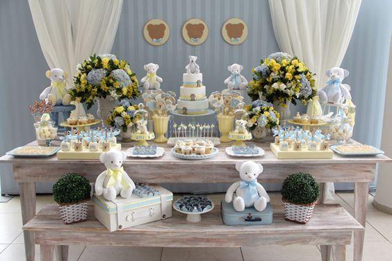 A decoração de chá de bebê do seu filhote, pode ser mais simples do que imagina. Apaixone-se por estas ideias e faça um lindo chá de bebê ou chá de fraldas
