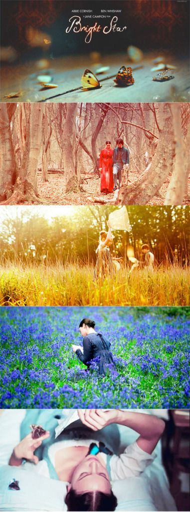 Bright Star...I love the cinematography of this movie! *SIGH*
