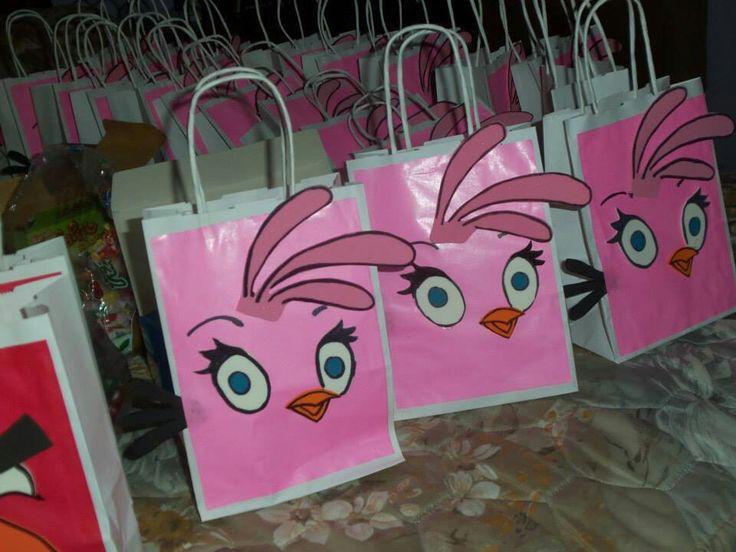 Angry Birds niña