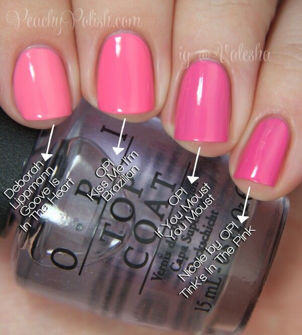 Opi pink pinks