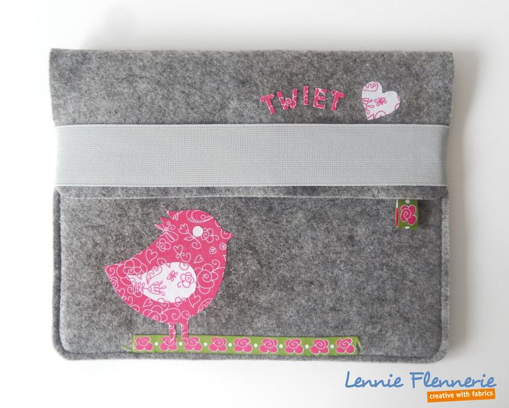 iPad cover, bird, vogel, Iron on