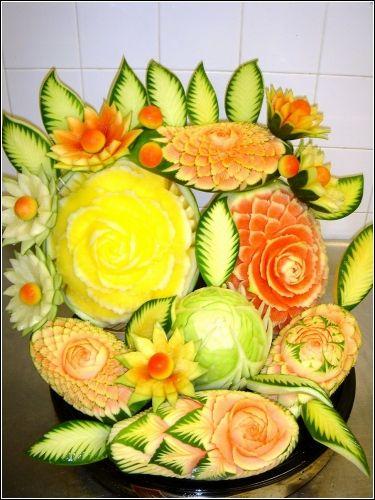 Art+fruit | Карвинг – искусство декоративной ...