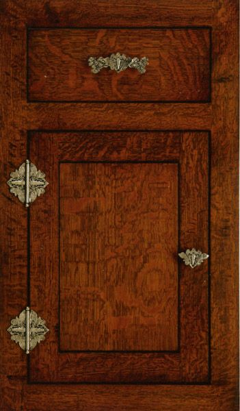 Craftsman Style Dragonfly Decorative Cabinet Hardware. #doornmore #Craftsman