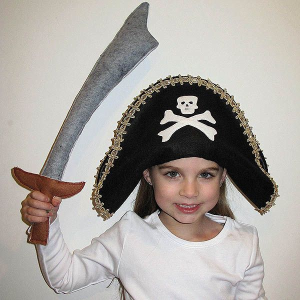 Diy pirate hat