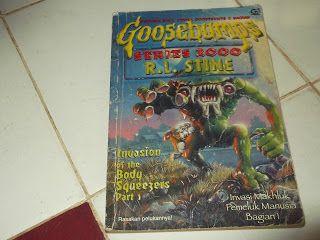 SYIREN BOOKS: Jual Novel Misteri Anak   Goosebumps Series 2000  ...