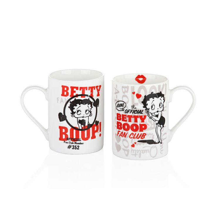Betty Boop Retro Kupa / Retro Mug  #bernardo #bettyboop #bernardobettyboopcollection #coffee #coffeetime #retro #kahve