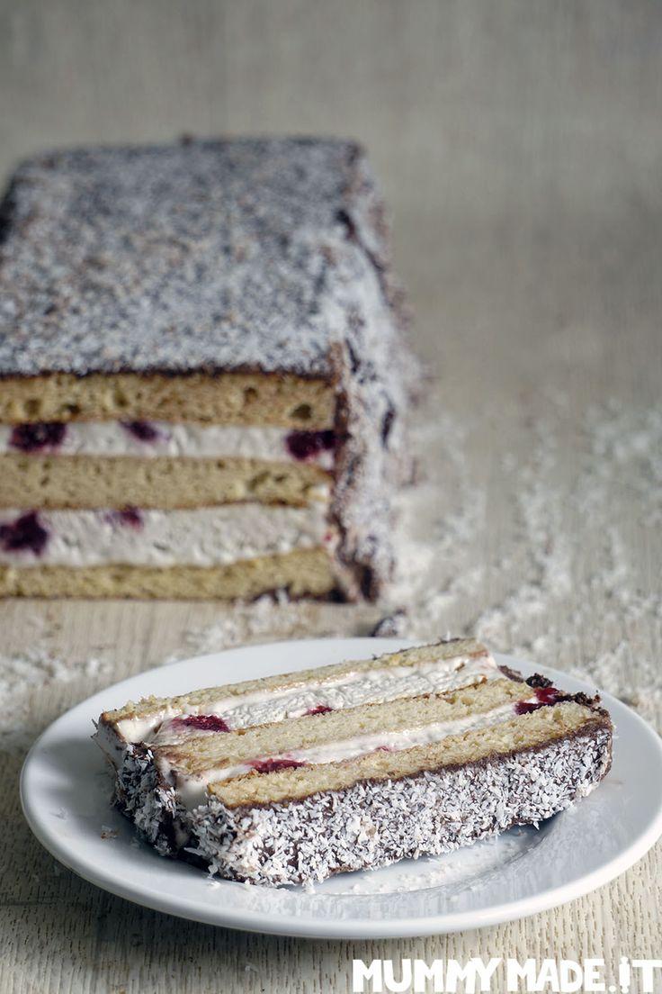 Lamington Ice Cream Cake | http://mummymade.it/2018/01/lamington-ice-cream-cake.html