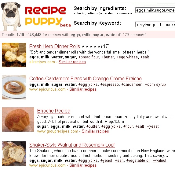 Cool RecipePuppy: Search Recipes By Ingredients On Hand photo #recipes #by #ingredients