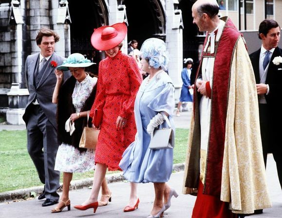 Memories Of Diana - Prince Charles & Lady Diana Spencer Attend The Wedding of Nicholas Soames & Catherine Weatherall - June 4th 1981