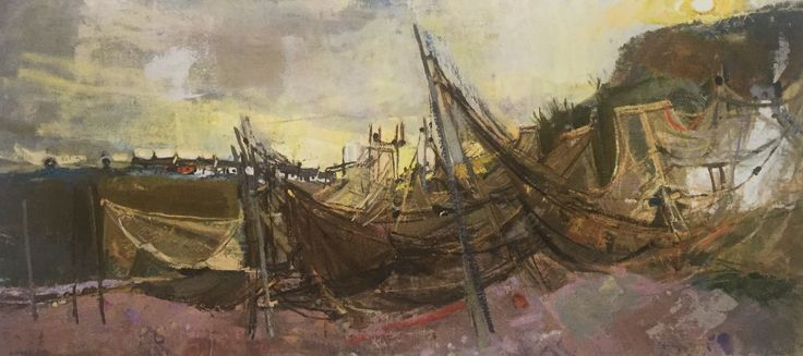 Joan Eardley And Her Pastel Landscapes - How to Pastel