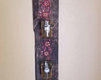 Candelabros rústicos Home Decor velas rústicas apliques