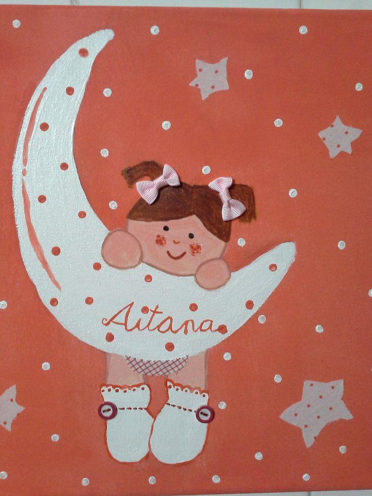 Aitana y la luna