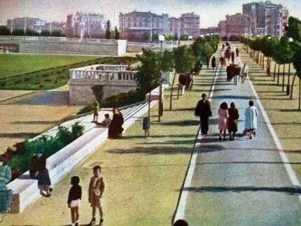 Taksim Gezi parkı 1940'lar