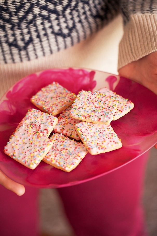 Homemade Pop Tarts- Glitter Girl: Claudia Stephenson -Photographed by Hannah Blackmore