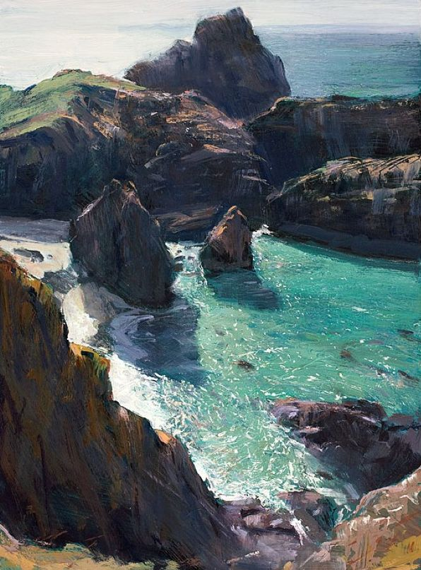Kynance Cove, Cornwall - I love this place, despite the walk down there!