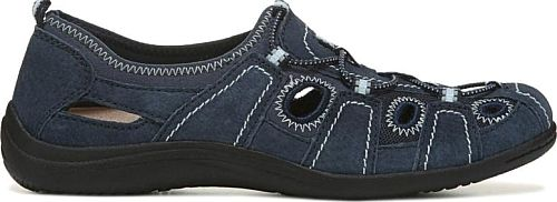 Earth Origins Women's Shoes in Navy Blue Color. Hit the outdoors comfortably in the Reza Sandal from Earth Origins.