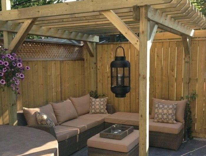 les 25 meilleures id es de la cat gorie pergola bois sur pinterest porche moderne pergola. Black Bedroom Furniture Sets. Home Design Ideas