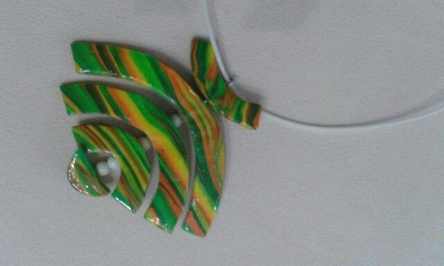 Rainbow.polymer clay