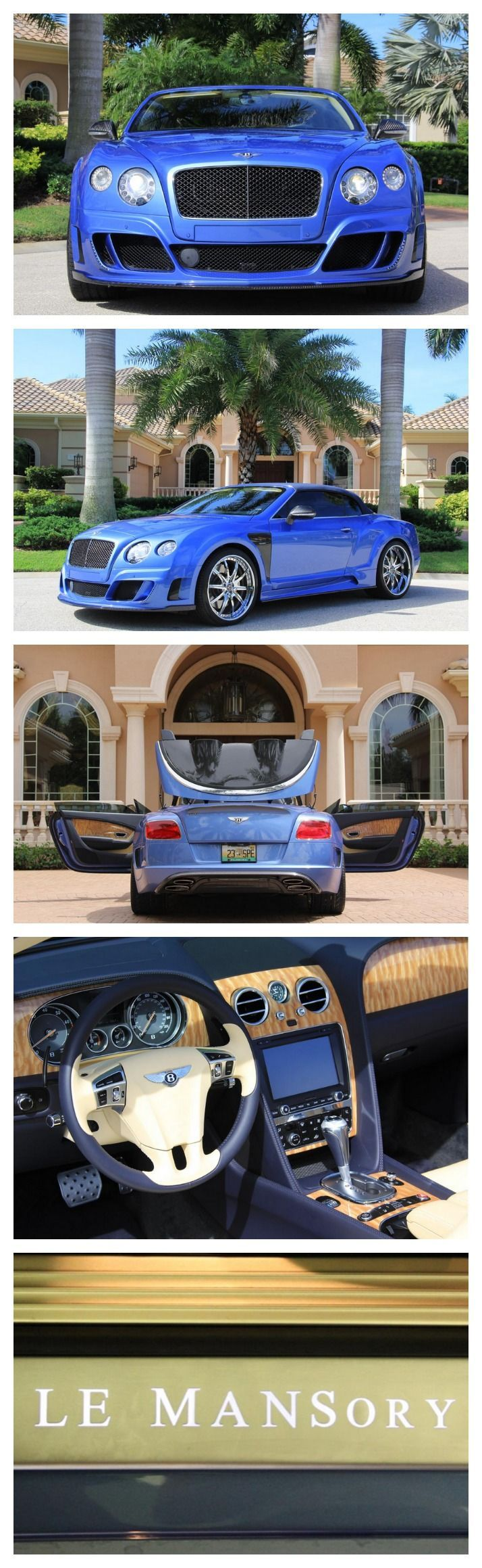 Stunning one of a kind Mansory Bentley GT <a href='\/search?q=autoawesome' class='pintag' title='#autoawesome search Pinterest' rel='nofollow'>#autoawesome<\/a>