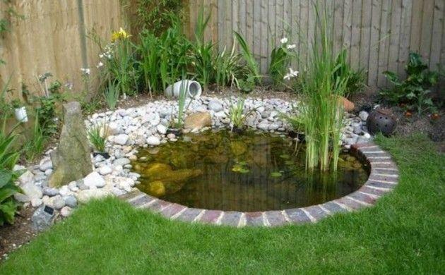 Gartenteiche Gartenecke Teich anlegen Gartengestaltung mit Steinen