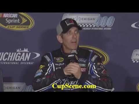 NASCAR at Michigan International Speedway, August, 2016: Greg Biffle pre...
