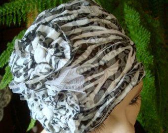 Womens hat chemo hat soft stylish chemo gift by GypsyLoveHeadbands