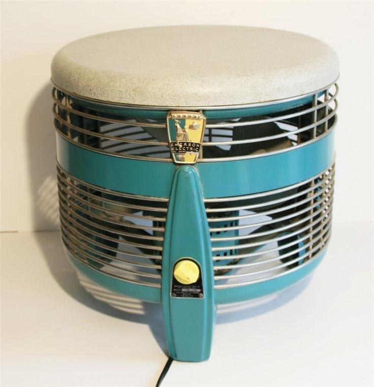 Mid century modern 50s hassock fan floor foot stool 3 Modern floor fans