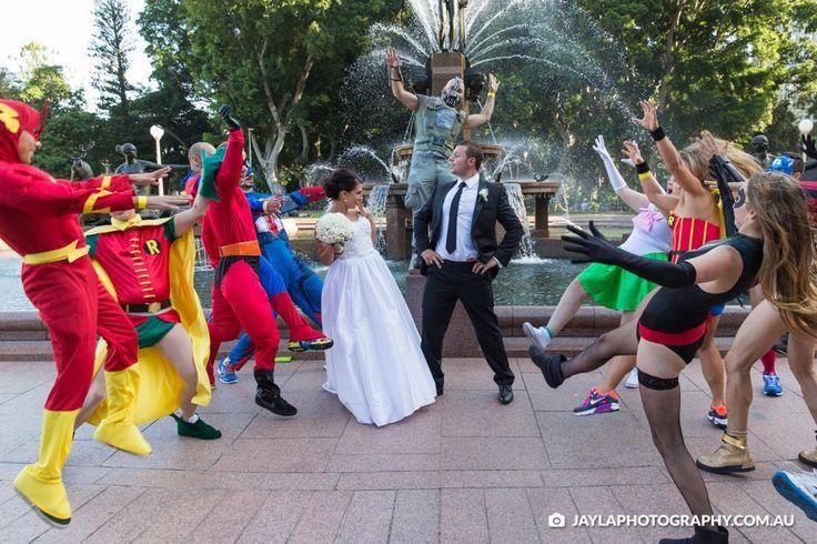 We even crashed a wedding!