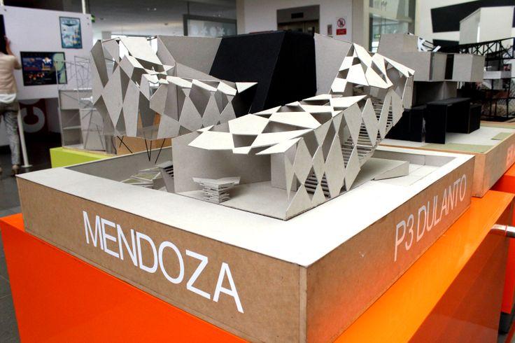 Maquetas de alumnos de la carrera de arquitectura de interiores - Carrera de arquitectura de interiores ...