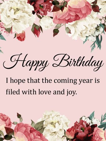Marvelous Flower Birthday Card Birthdays Are The Perfect Time To Share Your Affection With People You Love If Know A