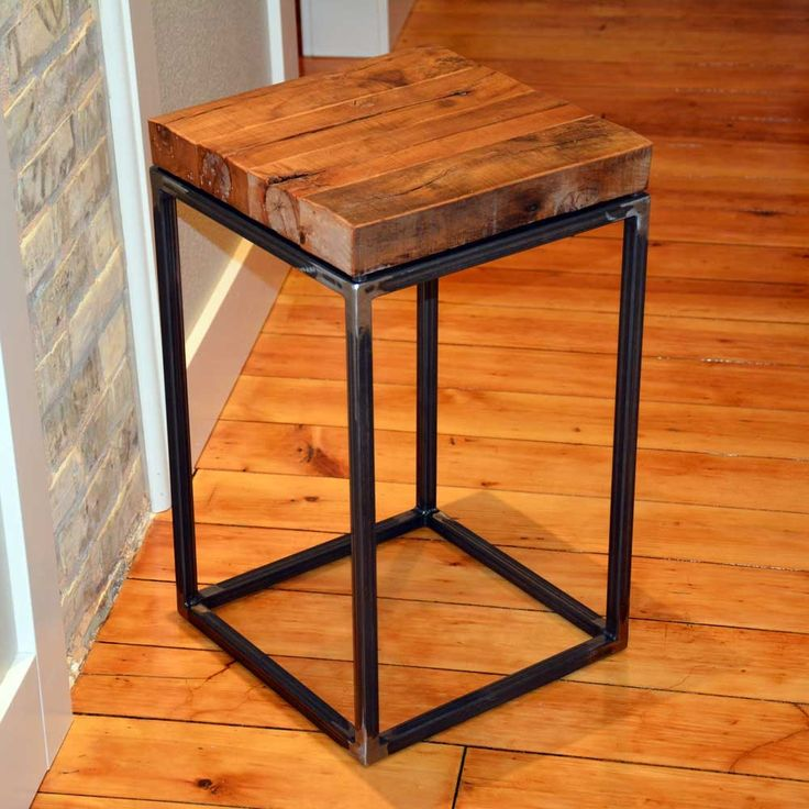 Wood and Wrought Iron End Tables - Modern Design Furniture Check more at http://www.nikkitsfun.com/wood-and-wrought-iron-end-tables/