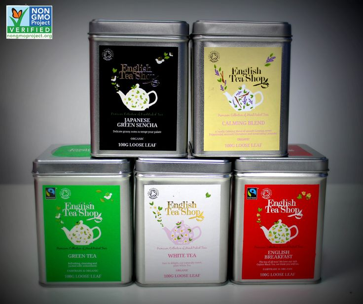 These Loose Leaf tea blends have recently become Non-GMO project certified!