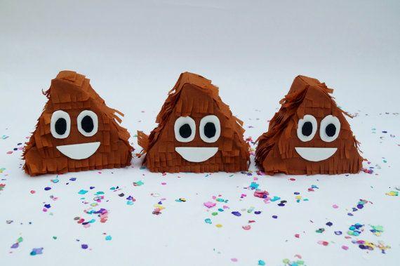 Poop emoji pinata, Emoji pinata, Emoji party, Mini pinata, Emoji party supplies…
