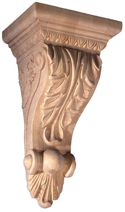 10 H X 5 3 8 W X 4 3 8 D Medium Fireplace Corbel With