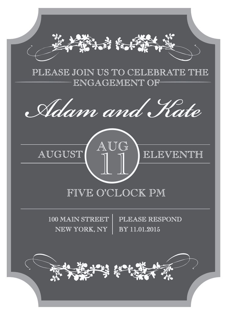144 best Wedding Invitations images on Pinterest Cards, Baby - free engagement invitations